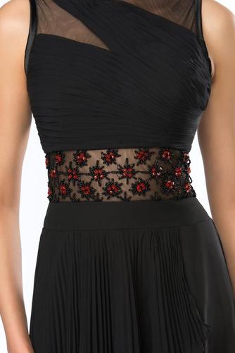 Καλοκαίρι Σιφόν Ασύμμετρη Χάνει Κόσμημα Φυσικό Βραδινά φορέματα - Σελίδα 5