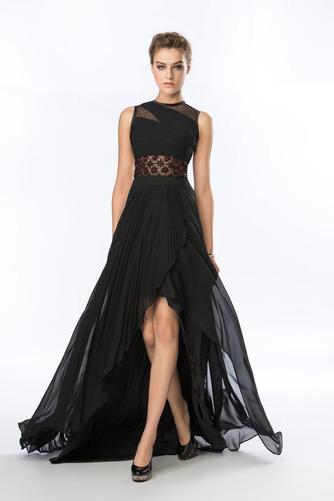 Καλοκαίρι Σιφόν Ασύμμετρη Χάνει Κόσμημα Φυσικό Βραδινά φορέματα - Σελίδα 1