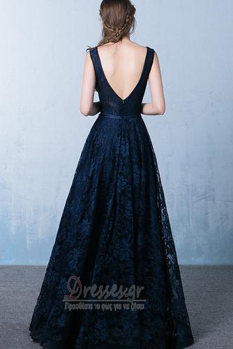 Δαντέλα επικάλυψης Ανάποδο Τρίγωνο Φυσικό Μπάλα φορέματα - Σελίδα 2