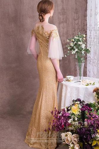 Χαλαρά μανίκια παγιέτες μπούστο Γραμμή Α Βραδινά φορέματα - Σελίδα 2