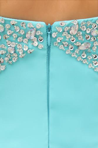εξώπλατο Πολυτελές Πλισέ Αμάνικο Ευρεία λουριά Βραδινά φορέματα - Σελίδα 5