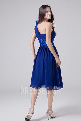 Οι πτυχωμένες μπούστο Σιφόν απλός Γραμμή Α Παράνυμφος φορέματα - Σελίδα 4