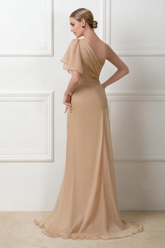 Ένας Ώμος Φυσικό Ασύμμετρα μανίκια Πολυτελές Βραδινά φορέματα - Σελίδα 3