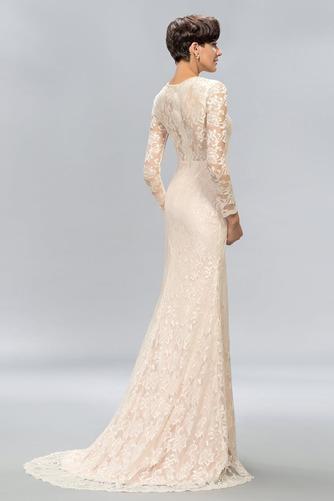Ντραπέ Φθινόπωρο Δαντέλα Φυσικό Ψευδαίσθηση Βραδινά φορέματα - Σελίδα 2