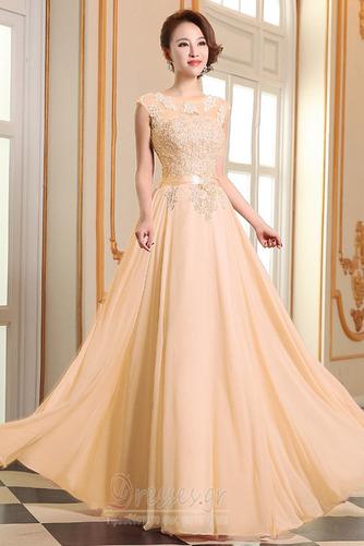 Προσαρμοσμένες μανίκια Δαντέλα-επάνω Δαντέλα επικάλυψης Βραδινά φορέματα - Σελίδα 7