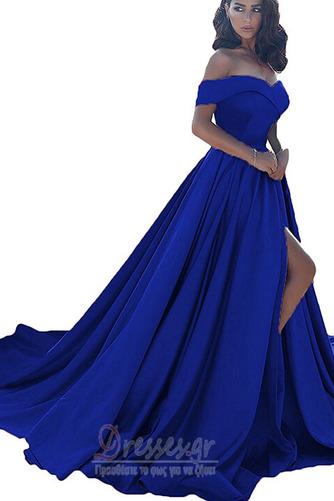 Άνοιξη Ντραπέ Από τον ώμο Αμάνικο Φερμουάρ επάνω Βραδινά φορέματα - Σελίδα 7