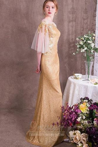 Χαλαρά μανίκια παγιέτες μπούστο Γραμμή Α Βραδινά φορέματα - Σελίδα 3