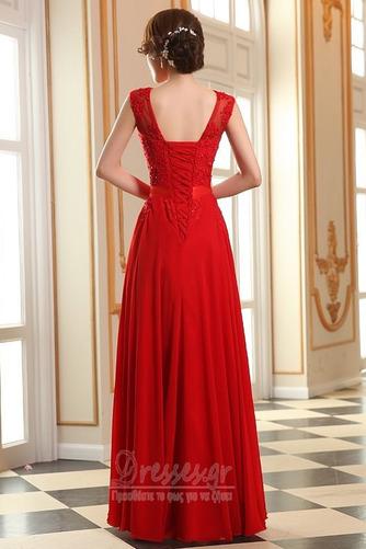 Προσαρμοσμένες μανίκια Δαντέλα-επάνω Δαντέλα επικάλυψης Βραδινά φορέματα - Σελίδα 4
