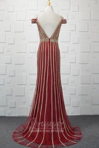 Πούλιες Θήκη εξώπλατο Τούλι Έναστρο Ανάποδο Τρίγωνο Βραδινά φορέματα - Σελίδα 3