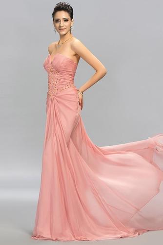 Άνοιξη αγαπημένος Φυσικό Οι πτυχωμένες μπούστο Βραδινά φορέματα - Σελίδα 4