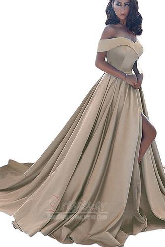 Άνοιξη Ντραπέ Από τον ώμο Αμάνικο Φερμουάρ επάνω Βραδινά φορέματα - Σελίδα 9