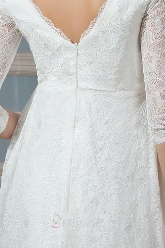 Λαιμόκοψη V Πολυτελές Ψευδαίσθηση Φερμουάρ επάνω Βραδινά φορέματα - Σελίδα 5
