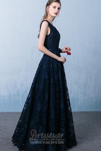 Δαντέλα επικάλυψης Ανάποδο Τρίγωνο Φυσικό Μπάλα φορέματα - Σελίδα 3