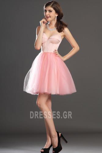 αγαπημένος Καλοκαίρι Ύπαιθρος Τούλι Αμάνικο Μπάλα φορέματα - Σελίδα 5