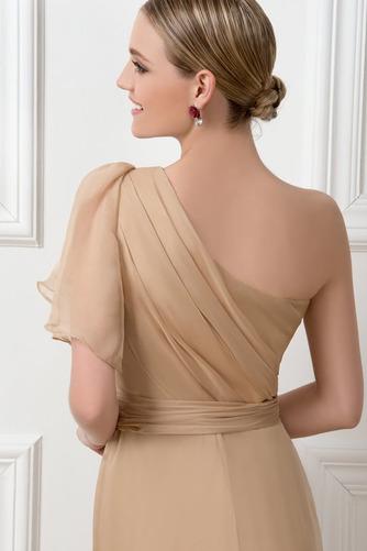 Ένας Ώμος Φυσικό Ασύμμετρα μανίκια Πολυτελές Βραδινά φορέματα - Σελίδα 5
