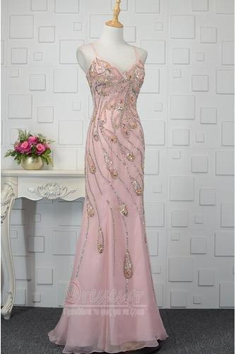 Φυσικό Κρυστάλλινη Μέχρι τον αστράγαλο Κόσμημα τονισμένο μπούστο Βραδινά φορέματα - Σελίδα 2