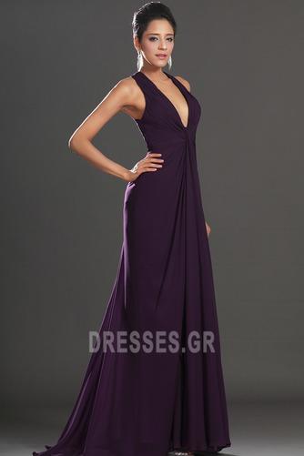 Αχλάδι Καλοκαίρι Πολυτελές Οι πτυχωμένες μπούστο Βραδινά φορέματα - Σελίδα 5