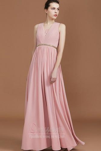 Φθινόπωρο Αμάνικο Διακοσμημένες με χάντρες ζώνη Παράνυμφος φορέματα - Σελίδα 1