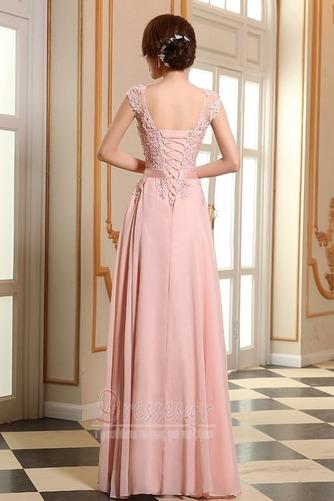 Προσαρμοσμένες μανίκια Δαντέλα-επάνω Δαντέλα επικάλυψης Βραδινά φορέματα - Σελίδα 2
