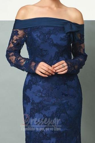 Φυσικό Φερμουάρ επάνω Μικρό Μακρύ Μανίκι Βραδινά φορέματα - Σελίδα 4