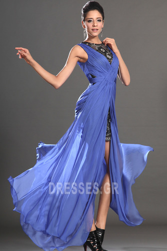 Θήκη υψηλή Χαμηλή Μπροστινό Σκίσιμο σικ Καλοκαίρι Μπάλα φορέματα - Σελίδα 4