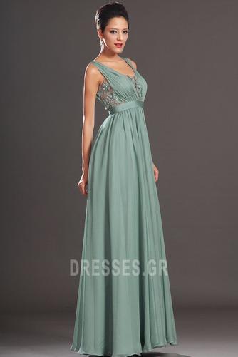 Μέση αυτοκρατορία Αμάνικο Σέσουλα Πλισέ Μικρό Βραδινά φορέματα - Σελίδα 5