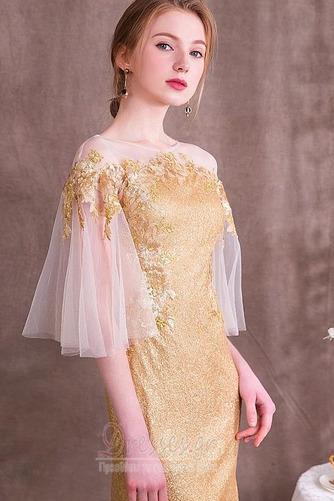 Χαλαρά μανίκια παγιέτες μπούστο Γραμμή Α Βραδινά φορέματα - Σελίδα 4