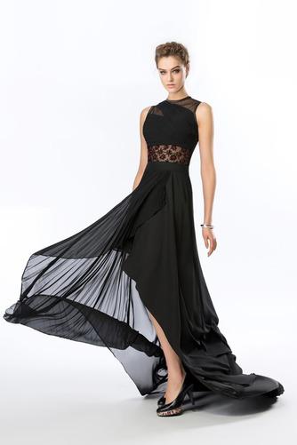 Καλοκαίρι Σιφόν Ασύμμετρη Χάνει Κόσμημα Φυσικό Βραδινά φορέματα - Σελίδα 4