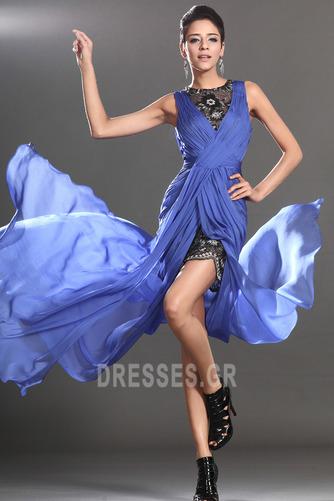 Θήκη υψηλή Χαμηλή Μπροστινό Σκίσιμο σικ Καλοκαίρι Μπάλα φορέματα - Σελίδα 2