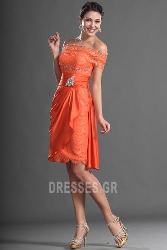 Μέχρι το Γόνατο Γραμμή Α Τα μέσα πλάτη Αποκλειστική Κοκτέιλ φορέματα - Σελίδα 3