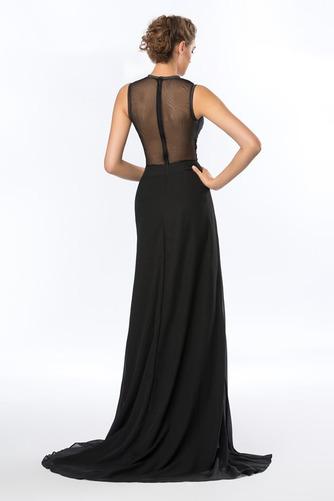 Καλοκαίρι Σιφόν Ασύμμετρη Χάνει Κόσμημα Φυσικό Βραδινά φορέματα - Σελίδα 3