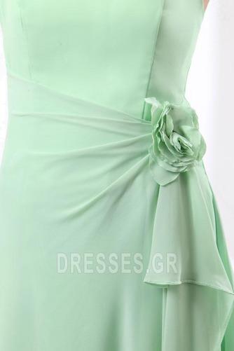 Τονισμένα ροζέτα Γραμμή Α Φυσικό Αμάνικο Παράνυμφος φορέματα - Σελίδα 7