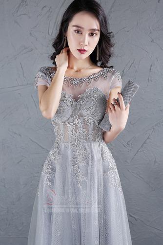Φυσικό Προσαρμοσμένες μανίκια Δαντέλα-επάνω Μπάλα φορέματα - Σελίδα 5