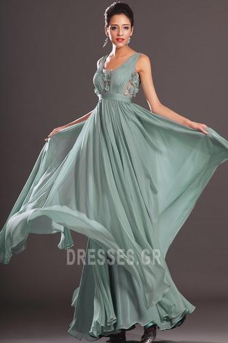 Μέση αυτοκρατορία Αμάνικο Σέσουλα Πλισέ Μικρό Βραδινά φορέματα - Σελίδα 3