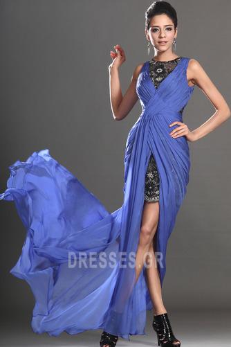 Θήκη υψηλή Χαμηλή Μπροστινό Σκίσιμο σικ Καλοκαίρι Μπάλα φορέματα - Σελίδα 5