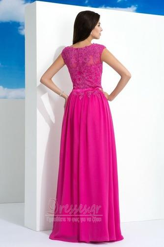 Φυσικό Δαντέλα Φερμουάρ επάνω Σιφόν Δαντέλα επικάλυψης Μπάλα φορέματα - Σελίδα 2