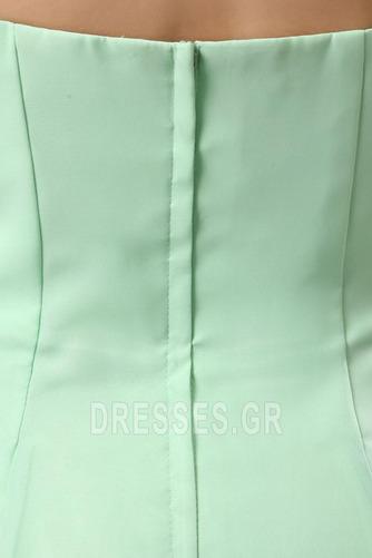 Τονισμένα ροζέτα Γραμμή Α Φυσικό Αμάνικο Παράνυμφος φορέματα - Σελίδα 8