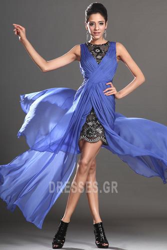 Θήκη υψηλή Χαμηλή Μπροστινό Σκίσιμο σικ Καλοκαίρι Μπάλα φορέματα - Σελίδα 3