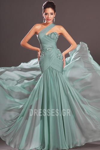 Φθινόπωρο πιέτα δραματική Τονισμένα ροζέτα Βραδινά φορέματα - Σελίδα 2