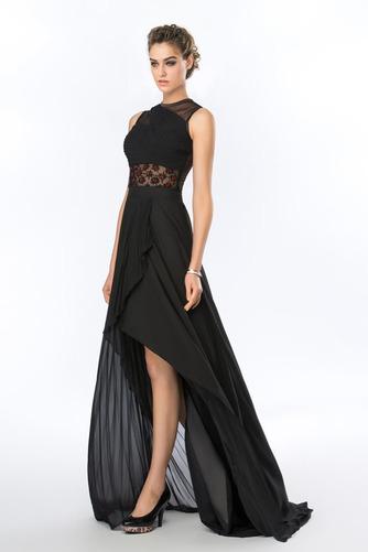 Καλοκαίρι Σιφόν Ασύμμετρη Χάνει Κόσμημα Φυσικό Βραδινά φορέματα - Σελίδα 2