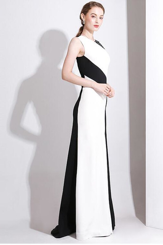 Μήκος πατωμάτων σικ Κόσμημα Μικροκαμωμένη Βραδινά φορέματα - Σελίδα 3