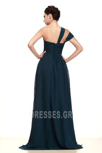 Μικρό Κοντομάνικο Ασύμμετρα μανίκια Φυσικό Μητέρα φόρεμα - Σελίδα 3