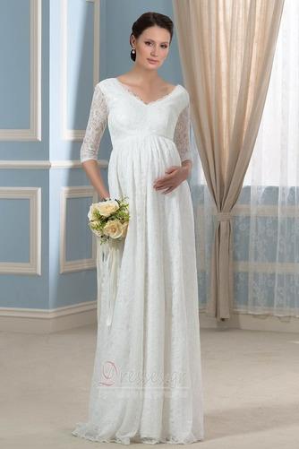 Λαιμόκοψη V Πολυτελές Ψευδαίσθηση Φερμουάρ επάνω Βραδινά φορέματα - Σελίδα 1