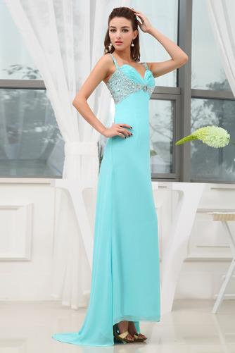 εξώπλατο Πολυτελές Πλισέ Αμάνικο Ευρεία λουριά Βραδινά φορέματα - Σελίδα 3