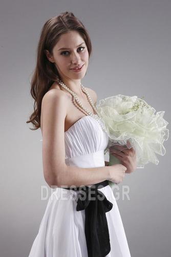 Μέχρι το Γόνατο Μικροκαμωμένη Τα μέσα πλάτη Παράνυμφος φορέματα - Σελίδα 7