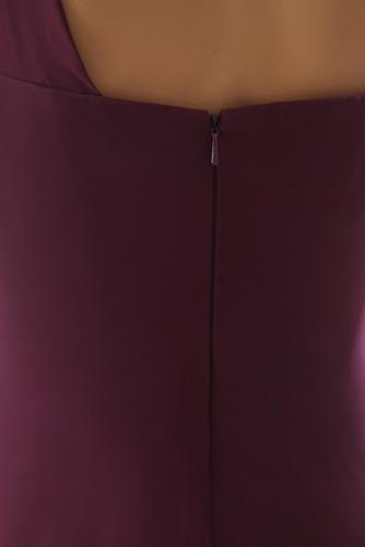Ασύμμετρη λαιμό Πλισέ Μήκος πατωμάτων Τα μέσα πλάτη Βραδινά φορέματα - Σελίδα 6