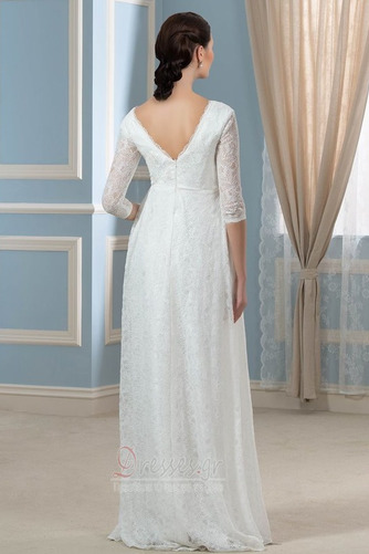 Λαιμόκοψη V Πολυτελές Ψευδαίσθηση Φερμουάρ επάνω Βραδινά φορέματα - Σελίδα 3