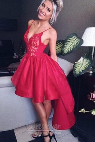 Φυσικό Διακοσμητικά Επιράμματα Ασύμμετρη Κοκτέιλ φορέματα - Σελίδα 3