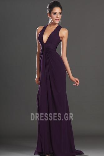 Αχλάδι Καλοκαίρι Πολυτελές Οι πτυχωμένες μπούστο Βραδινά φορέματα - Σελίδα 4