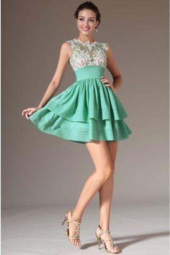 Πλισέ Καλοκαίρι άτυπος Χάνει Φυσικό Κοντό Μπάλα φορέματα - Σελίδα 1